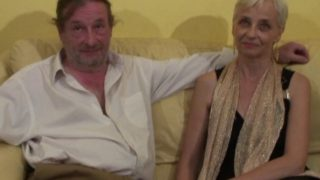 video torride d'un couple d'amateur mature
